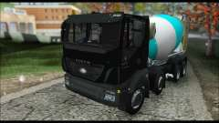 Iveco Trakker 2014 Concrete Snow (IVF & ADD) für GTA San Andreas