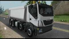 Iveco Trakker 2014 Tipper Snow für GTA San Andreas