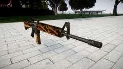 Le M16A2 fusil tigre