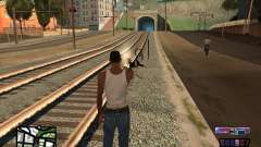COSMOS C-HUD pour GTA San Andreas