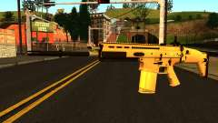 FN SCAR-H from Medal of Honor: Warfighter für GTA San Andreas