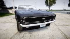 Chevrolet Camaro Mk.I 1968 rims2 pour GTA 4