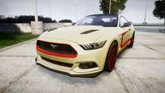 Ford Mustang GT 2015 Custom Kit red stripes pour GTA 4