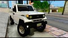 Toyota Land Cruiser Macho Pick-Up 2007 4.500 pour GTA San Andreas