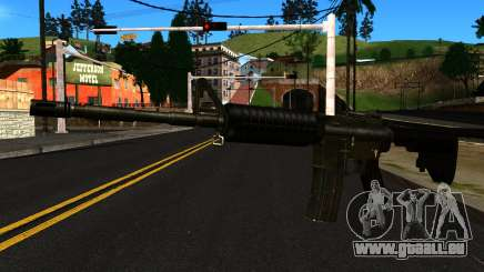M4 from GTA 4 pour GTA San Andreas