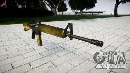 Le M16A2 fusil d'olive pour GTA 4