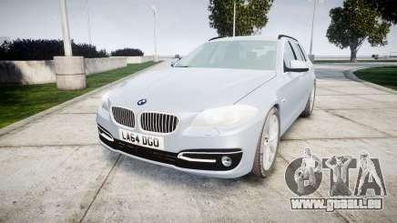 BMW 525d F11 2014 Facelift [ELS] Unmarked für GTA 4