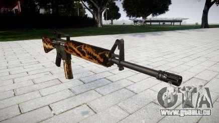 Le M16A2 fusil tigre pour GTA 4