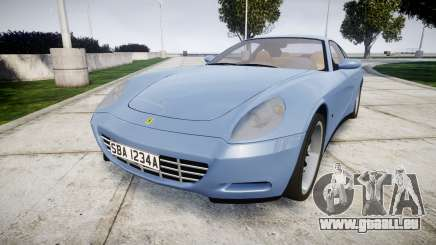Ferrari 612 2007 Hamann pour GTA 4