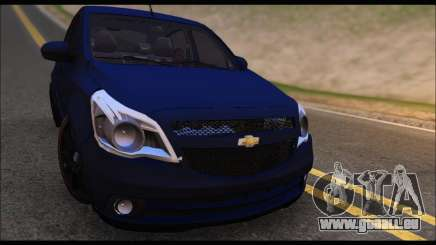 Chevrolet Agile Tunning pour GTA San Andreas