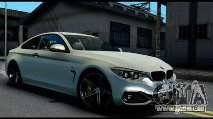 BMW 4-series F32 Coupe 2014 Vossen CV5 V1.0 pour GTA San Andreas