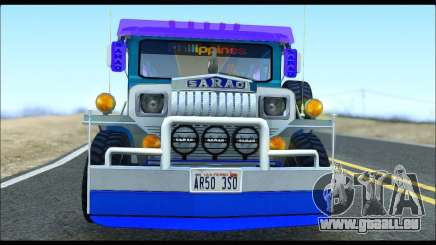 Light Jeepney pour GTA San Andreas