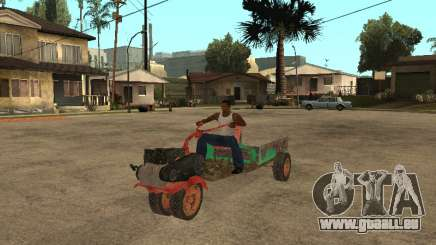 Batmobile pour GTA San Andreas