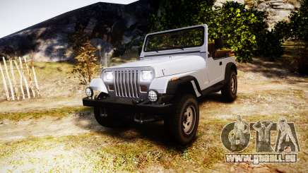 Jeep Wrangler 1988 pour GTA 4