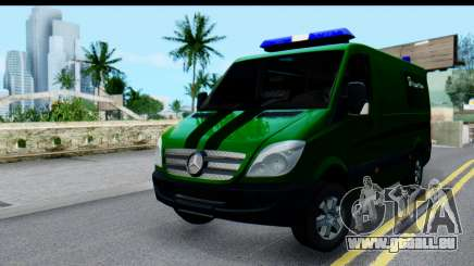 Mercedes-Benz Sprinter PrivatBank für GTA San Andreas