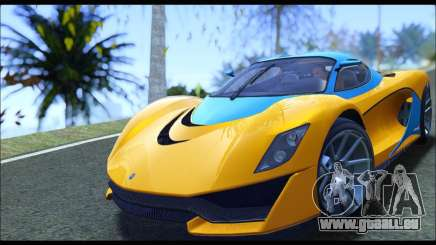 Grotti Turismo R v2 (GTA V) (IVF) pour GTA San Andreas