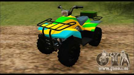 ATV Color Camo Army Edition pour GTA San Andreas