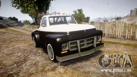 Vapid Towtruck Restored striped tires für GTA 4