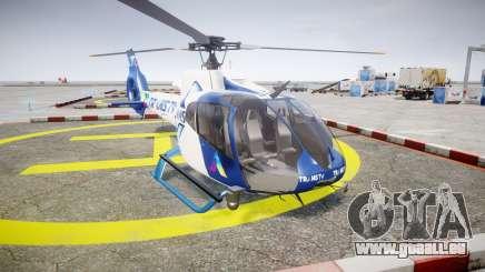 Eurocopter EC130 B4 TRANS TV pour GTA 4