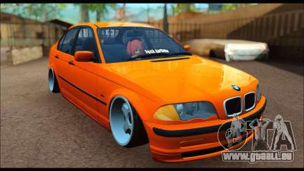 BMW e46 Sedan pour GTA San Andreas