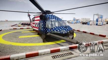 Sikorsky MH-X Silent Hawk [EPM] Freedom für GTA 4