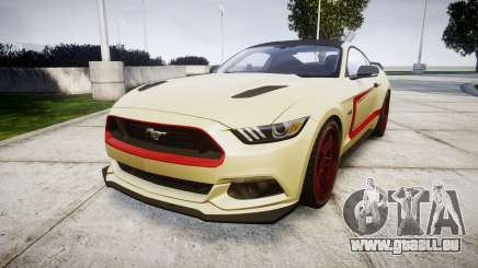 Ford Mustang GT 2015 Custom Kit red stripes pour GTA 4