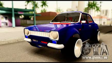 Ford Escort MK1 Modifive pour GTA San Andreas
