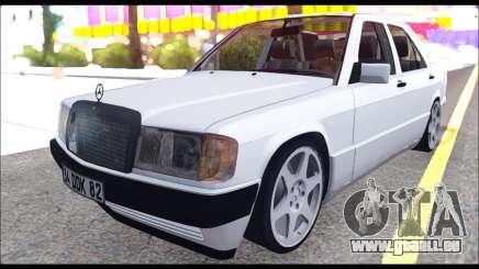 Mercedes Bad-Benz 190E (34 DDK 82) pour GTA San Andreas