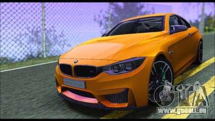BMW M4 F80 Coupe 1.0 2014 pour GTA San Andreas