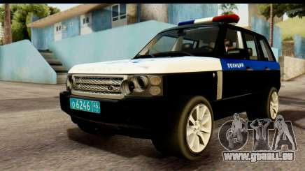 Land Rover ДПС pour GTA San Andreas