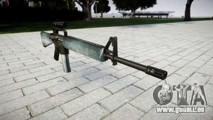 Le M16A2 fusil [optique] icy pour GTA 4