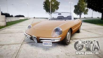 Alfa Romeo Spider 1966 für GTA 4