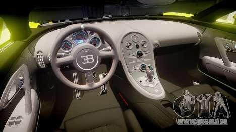 Bugatti Veyron Super Sport 2011 [EPM] Ken Block für GTA 4 Innenansicht