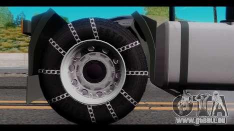 Iveco Eurotech pour GTA San Andreas vue de droite