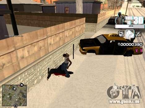 C-HUD 3D pour GTA San Andreas deuxième écran