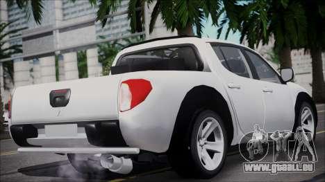 Mitsubishi Triton pour GTA San Andreas laissé vue