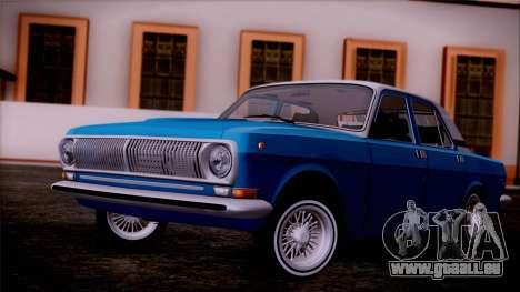 GAZ 3102 pour GTA San Andreas vue de droite