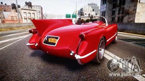 Chevrolet Corvette C1 1953 race für GTA 4 hinten links Ansicht