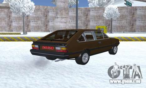 FSO Polonez 2.0X Coupe pour GTA San Andreas sur la vue arrière gauche