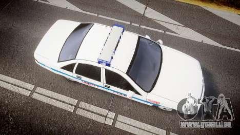 Chevrolet Caprice Liberty Police [ELS] für GTA 4 rechte Ansicht