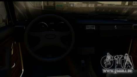 VAZ 2105 für GTA San Andreas Innenansicht