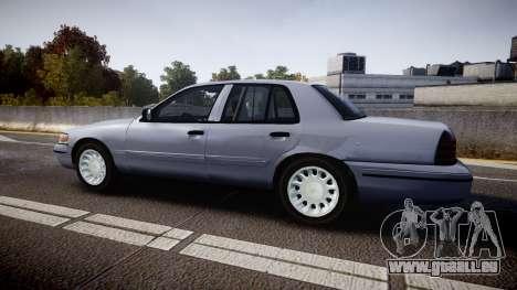 Ford Crown Victoria Unmarked Police [ELS] für GTA 4 linke Ansicht