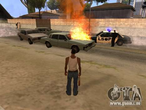 New Realistic Effects 4.0 Full Final Version pour GTA San Andreas deuxième écran