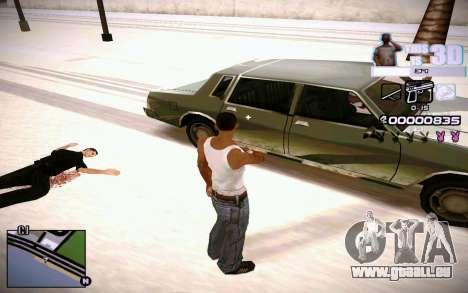 HUD 3D für GTA San Andreas her Screenshot