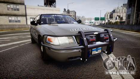 Ford Crown Victoria Sheriff K-9 Unit [ELS] pushe für GTA 4