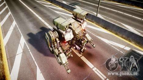 Enhanced Power Armor für GTA 4 Sekunden Bildschirm