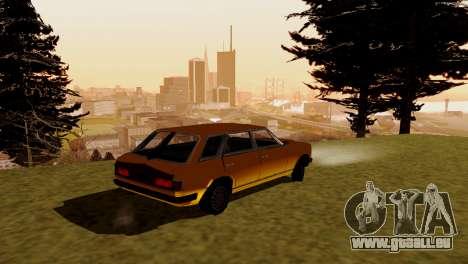 Brand new transport und Einkauf für GTA San Andreas dritten Screenshot