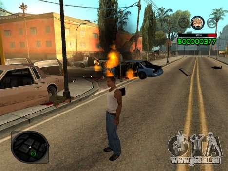 C-HUD by Radion pour GTA San Andreas cinquième écran