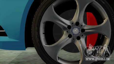 Mercedes-Benz S350 2015 Bluetec pour GTA San Andreas sur la vue arrière gauche