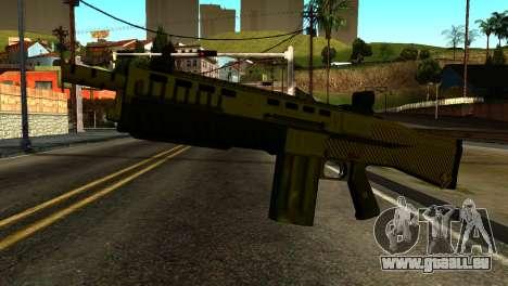 Bullpup Shotgun from GTA 5 für GTA San Andreas